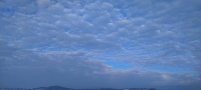 Zimsko jutro i prolećno nebo